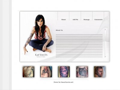 Tattoo Myspace Layouts