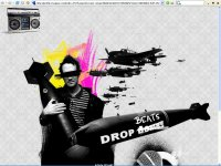 Drop beats, not bombs (DIV)
